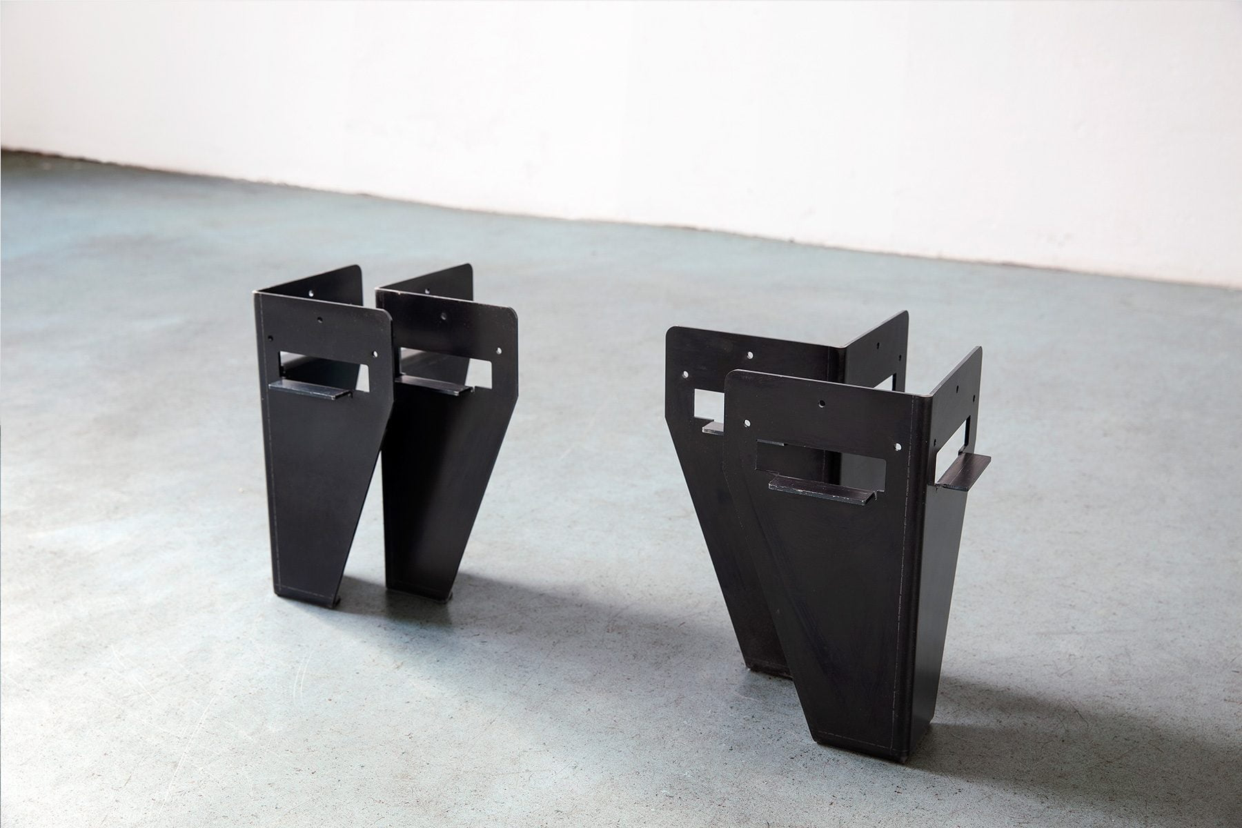 Set Bettbeine aus Stahl als Selbstbausatz DIY UpCycle Berlin