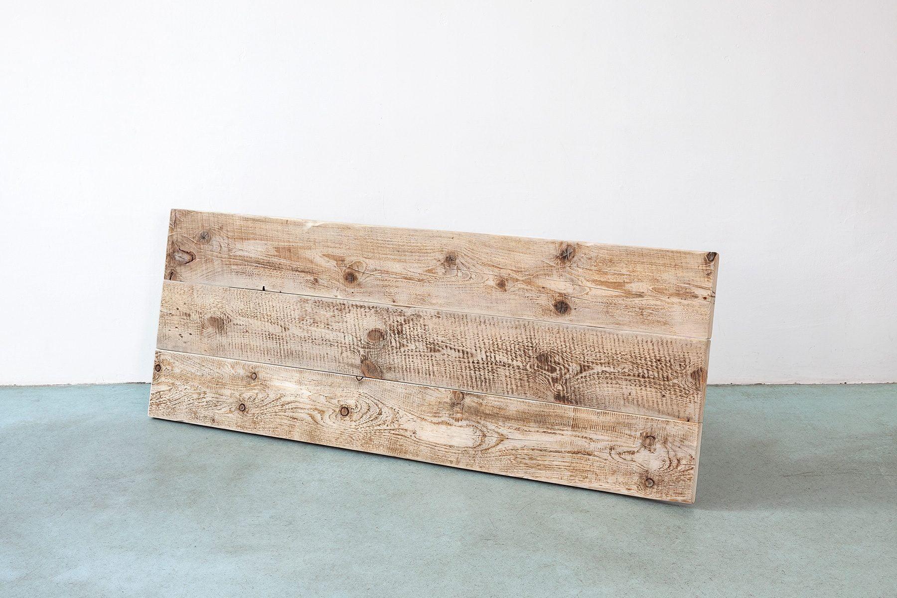 Massivholztischplatte aus Bauholz nach Maß UpCycle Berlin